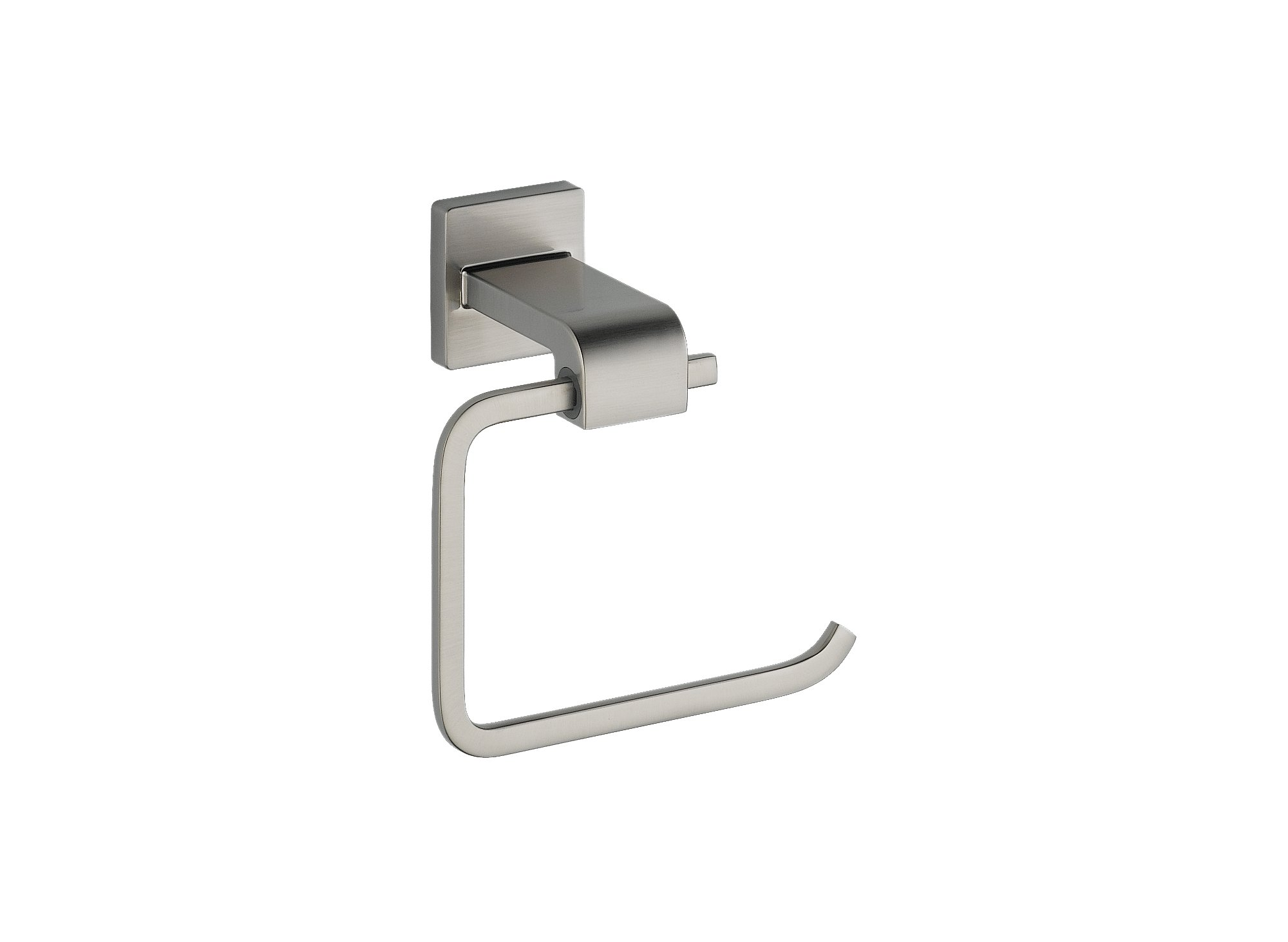 Delta 77550-SS Ara Single Post Toilet Paper Holder in Brilliance, Stainless Steel by DELTA FAUCET