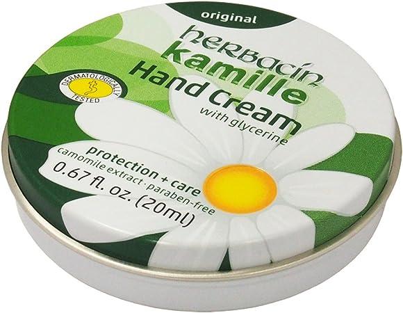 Herbacin Kamille Hand Cream Original Tin (20ml)