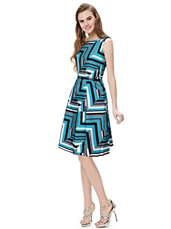 d79a0fe8352db Refreshclothes Women Western Wear Crepe Skater Dress (Size-Large):  Amazon.in: Clothing & Accessories