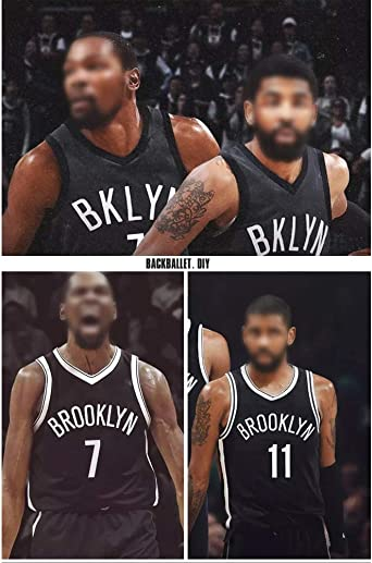 Baloncesto para Adultos Ropa Deportiva Entrenamiento Sin Mangas Unisex,Grey-S ZZH NBA Brooklyn Nets #7 Jersey Summer NBA Sports Uniformes Kevin Durant
