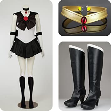 Sailor Moon Sailor Pluto Meiou Setsuna Costumes Set for Cosplay & Amazon.com: Sailor Moon Sailor Pluto Meiou Setsuna Costumes Set for ...