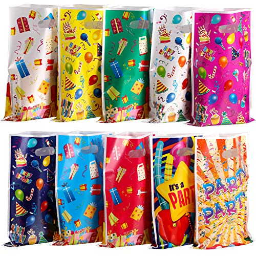 arty Favor Bags Assorted Birthday Bags Treat Bags for Party Holiday Celebrations Events ()