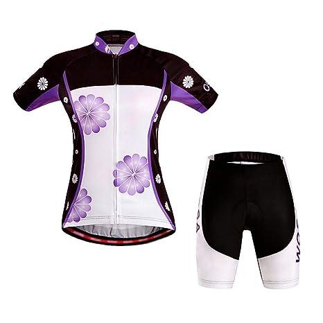 Traje ciclista de jersey de bicicleta Traje de ciclismo ...