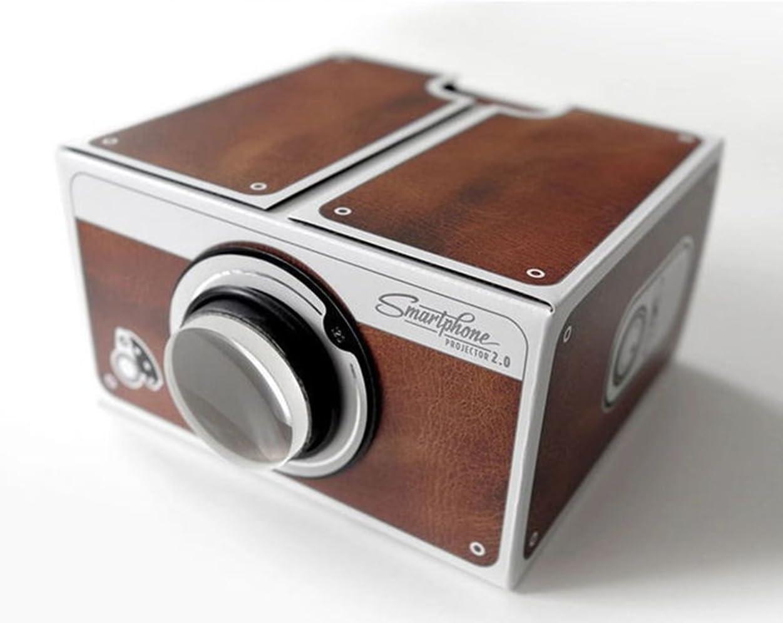zhxin portátil Smartphone Teléfono móvil proyector, DIY Cartón ...
