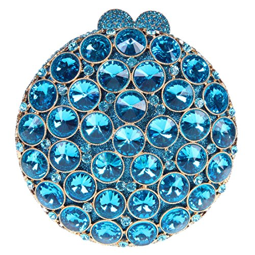 Fawziya Round 15cm Bag In A Bags For Womens Purses And Handbags-Mint - Brands Expensive List Of