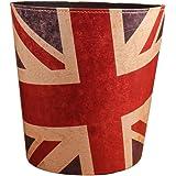 FOKOM Waste Paper Bin Waste Paper Basket Paper Bin-Union Jack