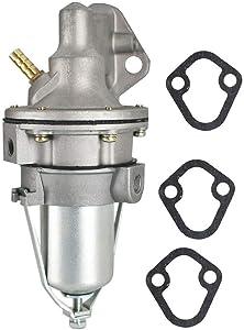 Fudoray Fuel Pump Replaces 86234A4 18-7278 60032 985602 985603 982240 86234A05 982440 for 2.5L 3.0L 3.7L 4.1L Mercruiser 140 470 485 488 160 165 200 OMC 100 110 120 140