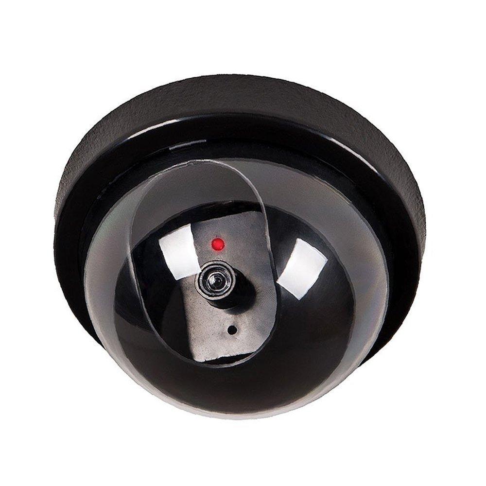 非常に高い品質 BYBYCD 1個 フェイクカメラ 屋内外用 B07DW3G948 偽物ダミーセキュリティCCTVドームカメラ リアルなLEDライト ホームセキュリティ用 フラッシュライト 赤色LEDライト 屋内外用 警告ステッカー 屋外/屋内用 1個 B07DW3G948, CIRCLE:9f002f15 --- martinemoeykens-com.access.secure-ssl-servers.info