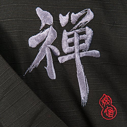 durable modeling japons kimono zen largo negro