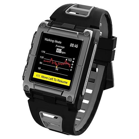 Amazon.com: ELYSYSRL Smartwatch IP68 Waterproof Fitness ...