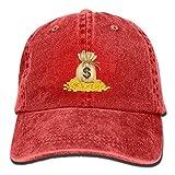 Moonmoon Unisex Purse Personal Group Sports Cowboy Cap Peaked Baseball Cap