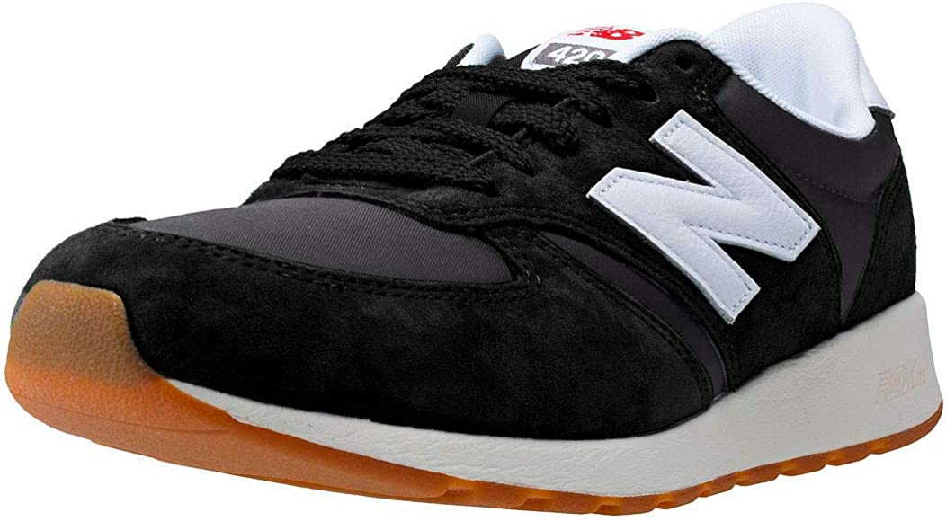 Black Leather Running Shoes - 12.5 UK