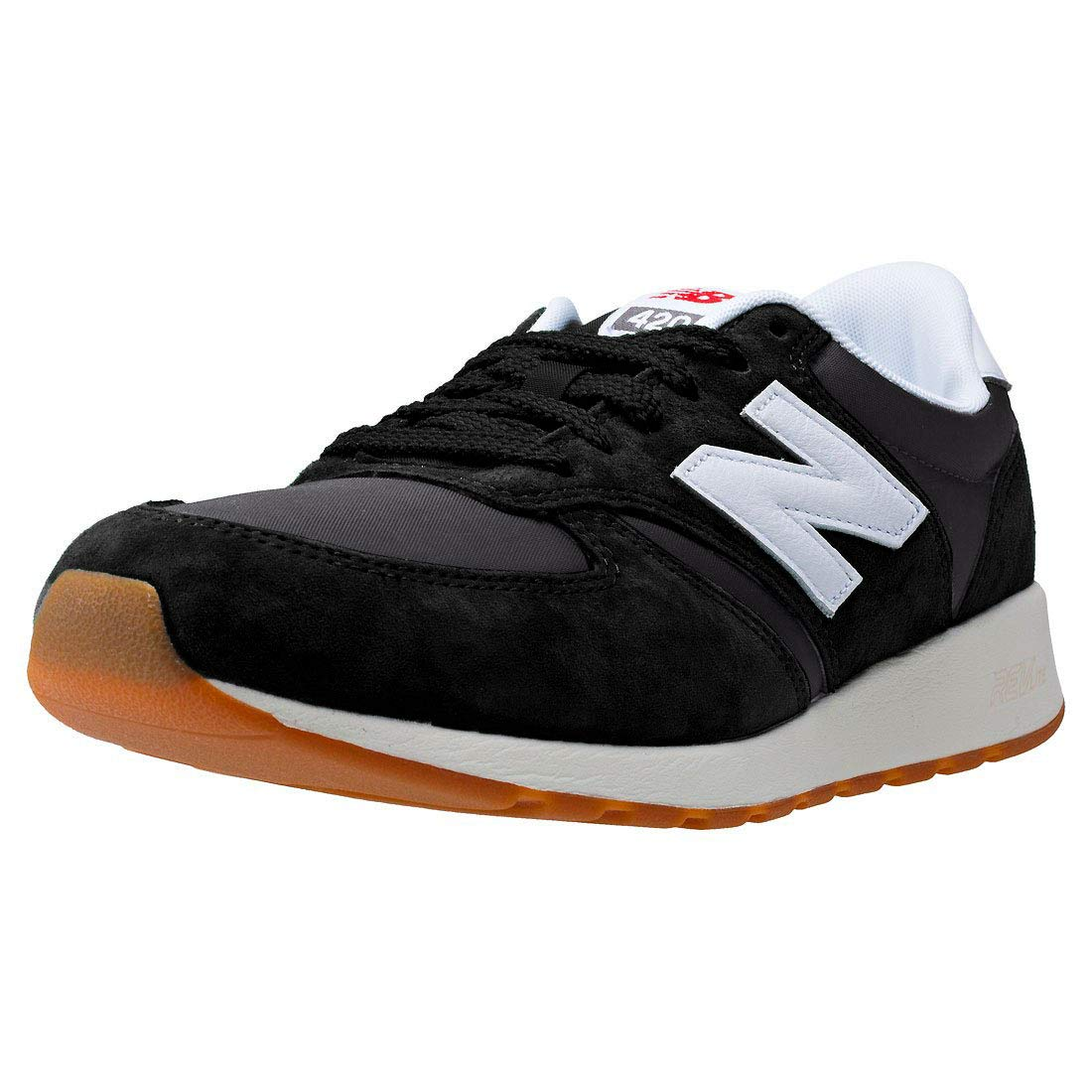 Buy new balance Men's 420 Black Leather Running Shoes - 12.5 UK ...