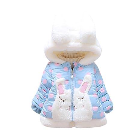 Abrigos para 0 – 2 años Baby, janly niedliche niña Bunny Abrigos Infant Niño con