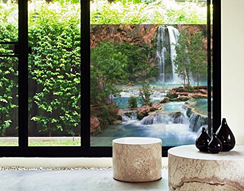 Window Mural National Park window sticker window film window tattoo glass sticker window art window décor window decoration Size: 56.7 x 56.7 inches by PPS. Imaging