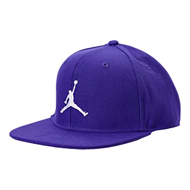 f11630ab9ad Nike Jordan Big Boys' Youth Retro Jumpman Snapback Hat (Germaine Blue/White,