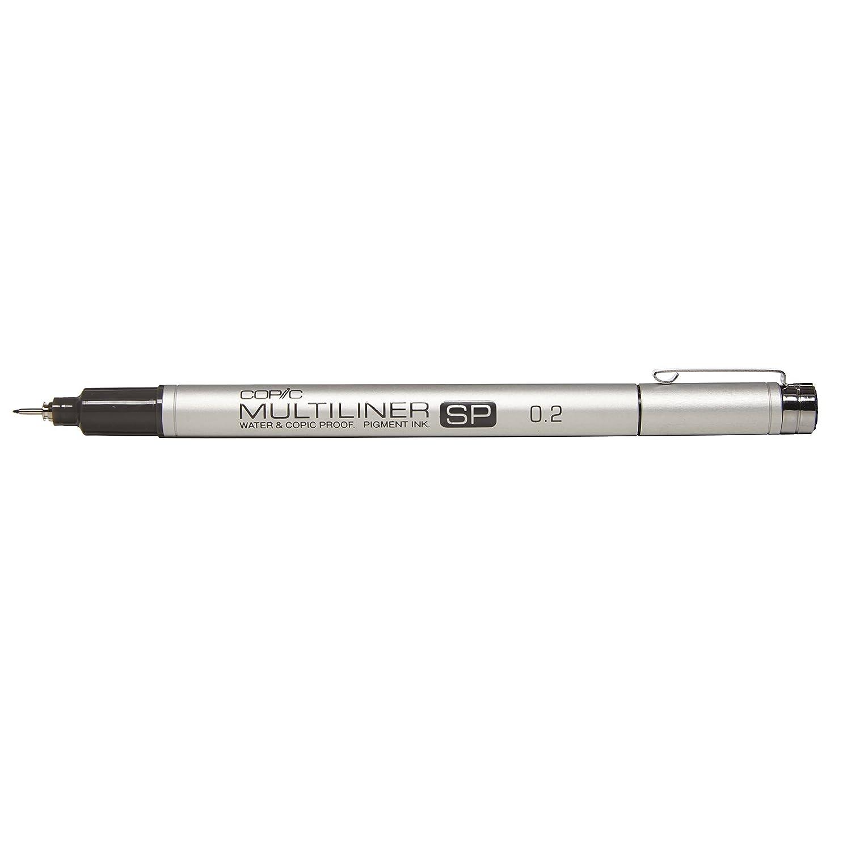 Copic Marker Multiliner SP Black Ink Pen-.2mm MLSP-02
