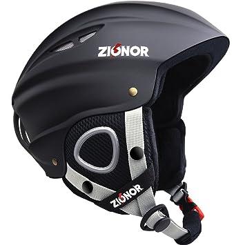 ZIONOR Lagopus H1 Casco Esquí Snowboard Deportes de Nieve Casco Ligero a Prueba de Viento para