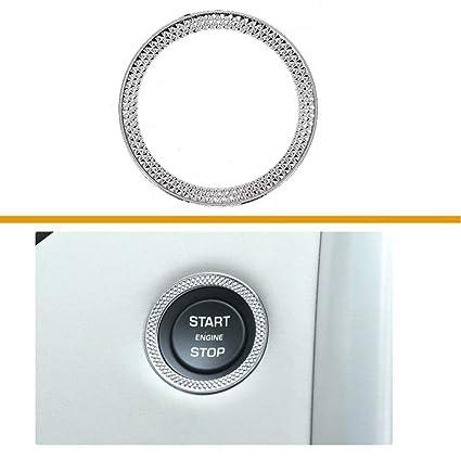 Amazon com: TULIN Car Ignition Engine Push Start Stop Button