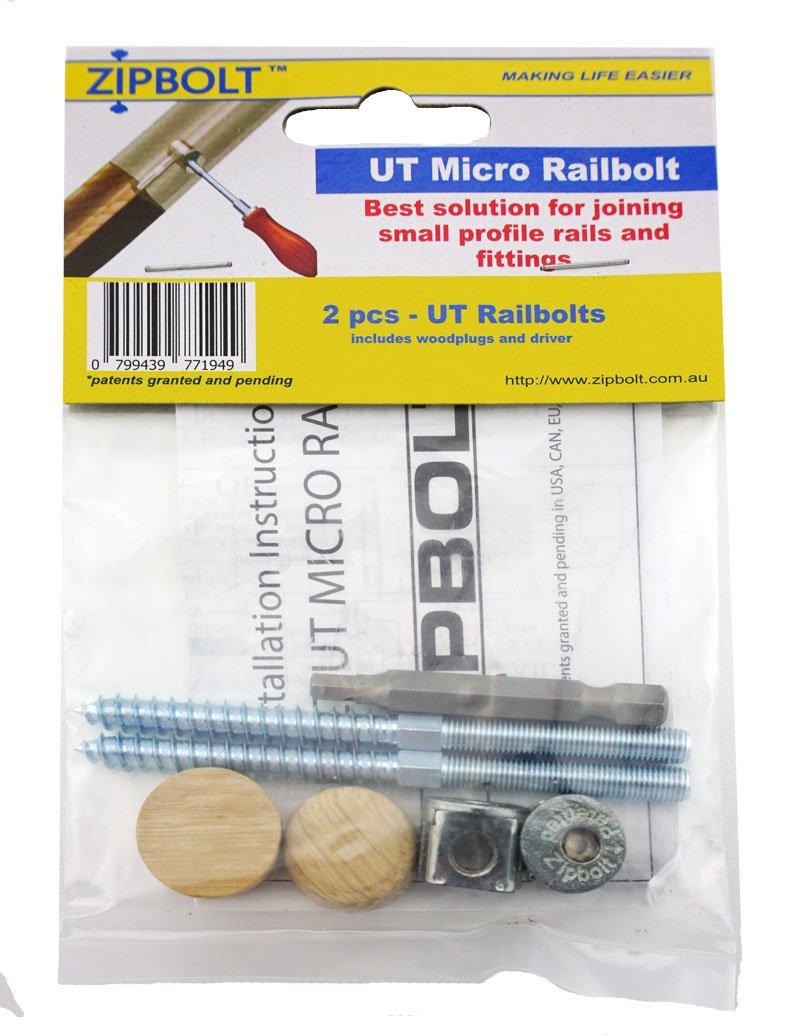 Zipbolt UT Micro Railbolt - 2 Pack by Zipbolt