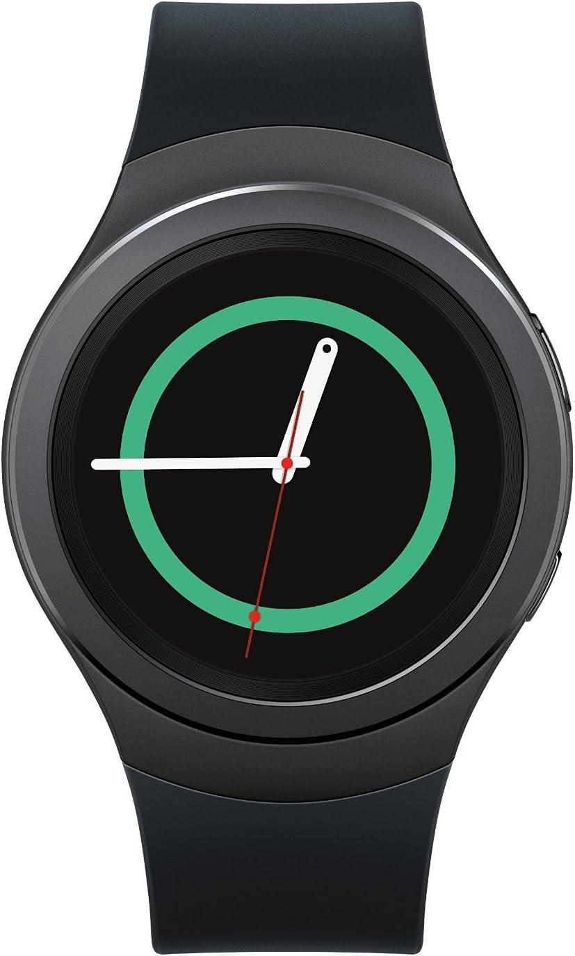 Samsung Gear S2 R730A Smartwatch (AT&T) - Black / Dark Gray (Renewed)