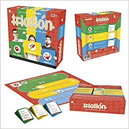 Triatlhon Board Game Triatlon Juego De Mesa Spanish Edition