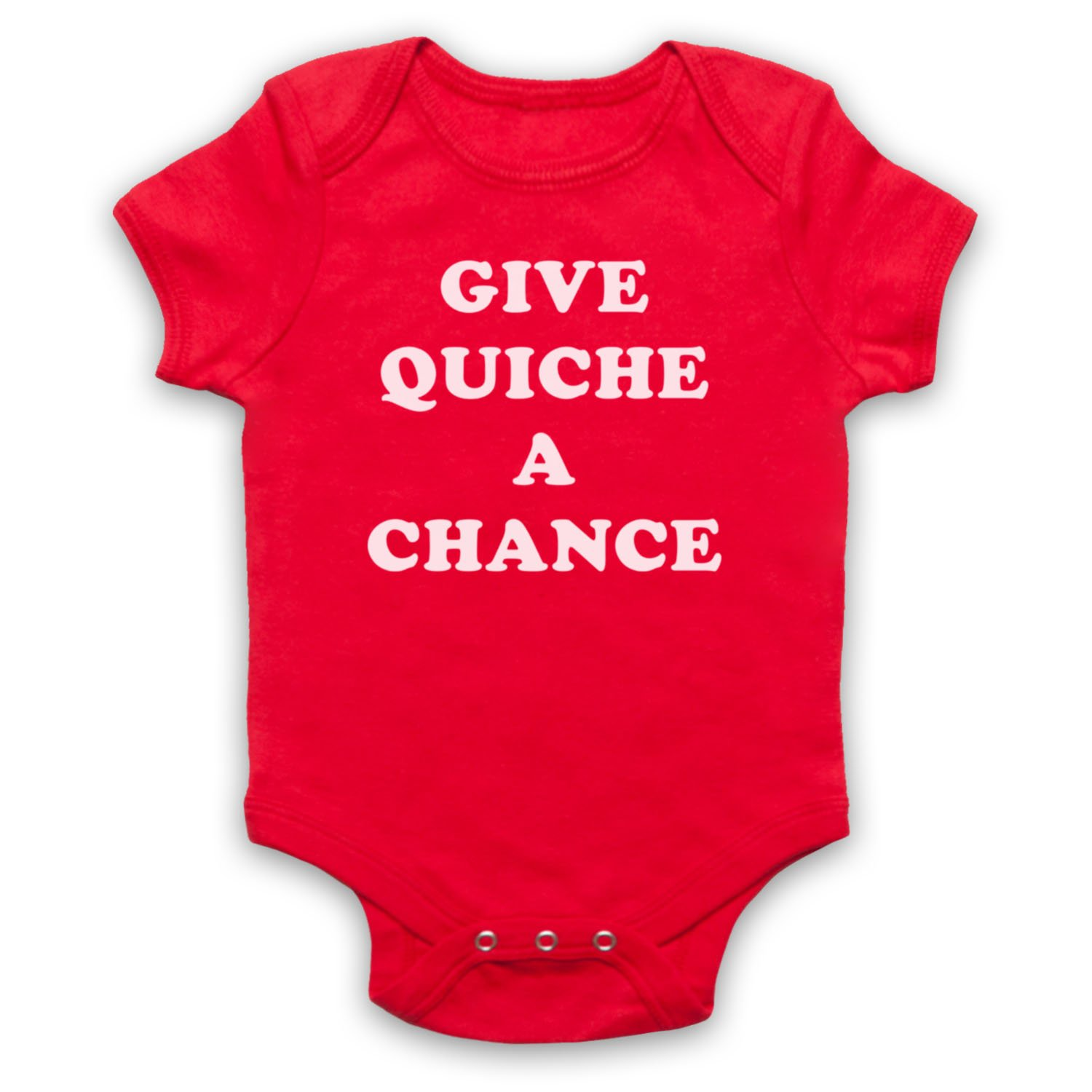 The Guns Of Brixton Red Dwarf Give Quiche A Chance Baby Grow BBGDSL00203