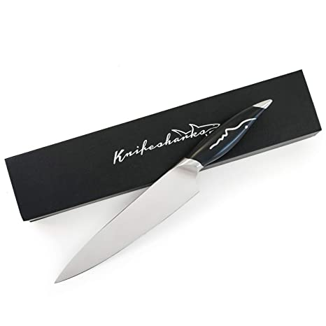 Amazon.com: Knifesharks – Cuchillo de chef de 7.9 in, súper ...