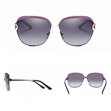 RAQ Color de la película señora Moda polarizada Gafas de Sol ...