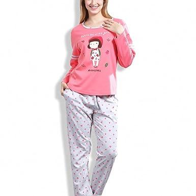 Pink Pyjamas Women Big Size Pyjama Femme Pajamas Pijamas Mujer Pajama Set