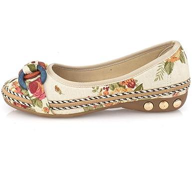 a49ff42158d DENER Womens Ladies Flat Shoes