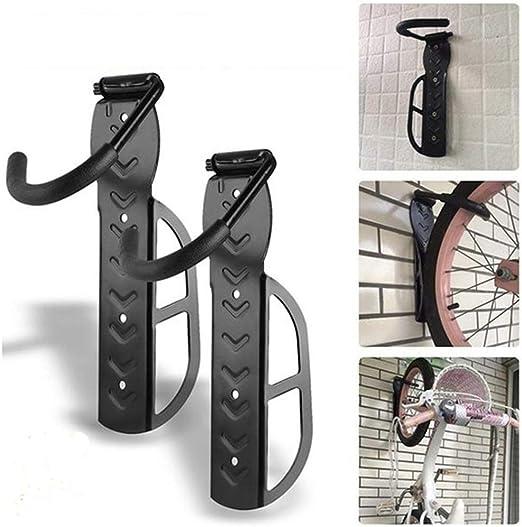MZY1188 Soporte de Pared para Bicicleta, portabicicletas, Gancho para Montaje en Pared para Bicicleta de montaña, portabicicletas metálico con Capacidad de 30 kg: Amazon.es: Hogar