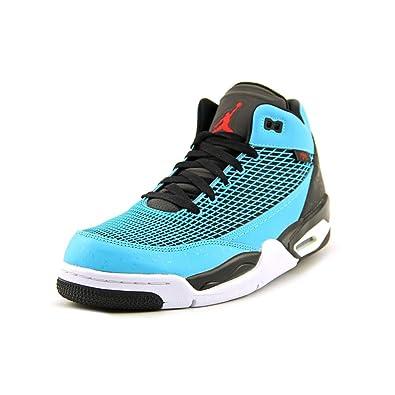 f47eaa49ec4449 Jordan Nike Air Flight Club 80 s Mens Basketball Shoes 599583-402 Gamma  Blue 10.5 M