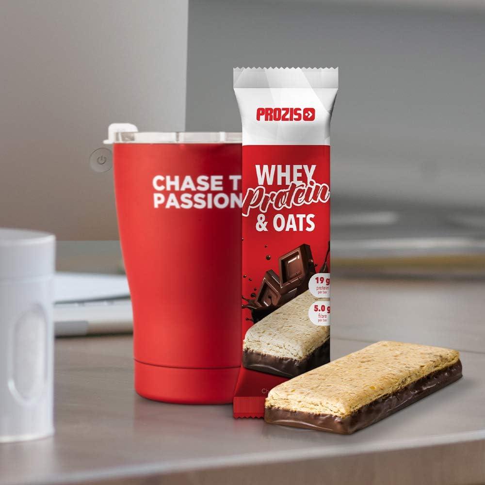 Prozis Whey Protein & Oats, Sabor Chocolate - 12 Unidades de ...