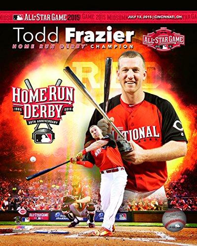 Amazon Com Todd Frazier Cincinnati Reds Mlb 2015 Home Run