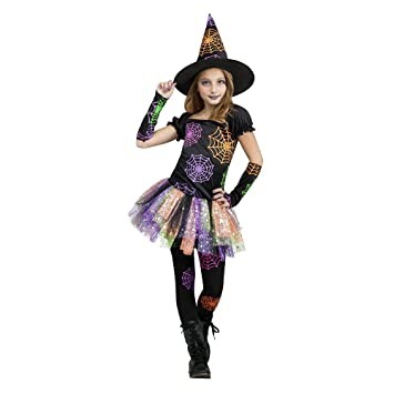Amazon.com: Big Girls' Wild Witch Costume Small (4-6): Toys & Games
