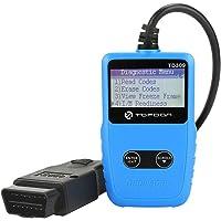 OBD2/OBDII Code Reader, TOPDON TD309 Auto Diagnostic Scan Tool Portable Automotive Obd2 Scanner 9-18V car/SUV/Light Truck