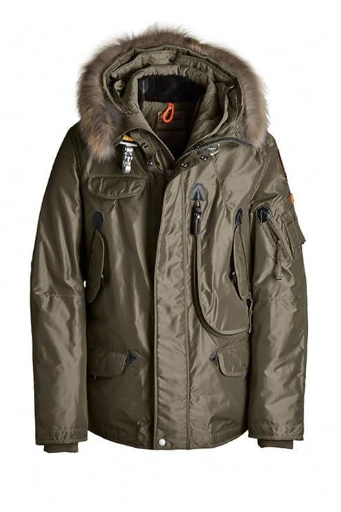 Hombre 's Plumón Chaquetas Right mano Waterproof compartimentado Outwear – Chaqueta de invierno camping
