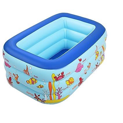Amazon.com: Infantes Infantil inflable plegable piscina ...
