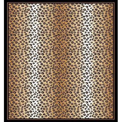 Ebony Area Rug (Home Dynamix Zone 7117-502 5-Feet 2-Inch by 7-Feet 4-Inch Area Rug,)