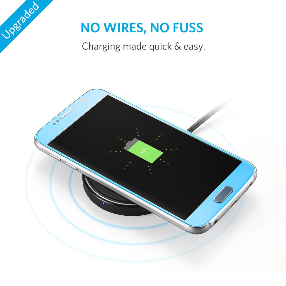 Amazon.com: Anker Wireless Charger Charging Pad for iPhone 8/8 Plus ...