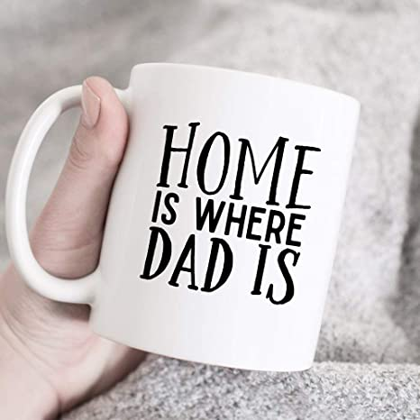 Amazon com   Home Is Where Dad Is, Gift from Daughter to Dad