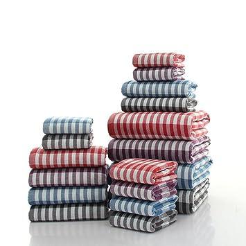 Zoomlie Luxus Badezimmer Handtuch Ballen Set 1 Klein Face Wash