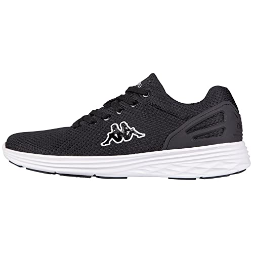 Kappa Trust Footwear Unisex - Zapatilla Deportiva de Material sintético Unisex Adulto, Color Negro, Talla 37