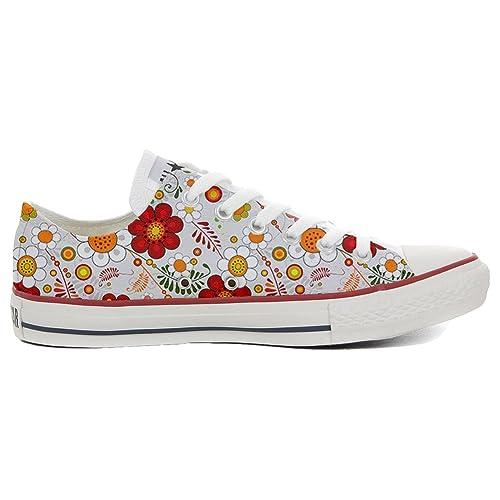 Converse All Star zapatos personalizadas (Producto Artesano) Floral Paisley: Amazon.es: Zapatos y complementos