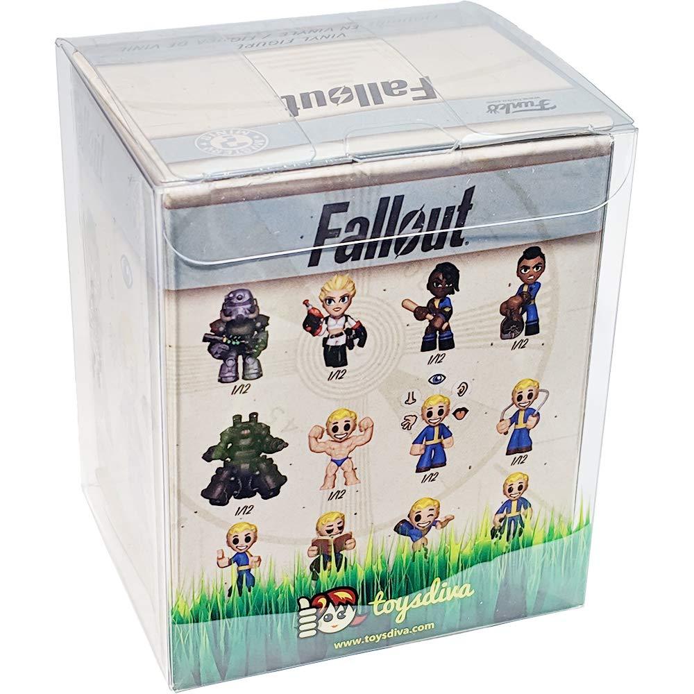 Fallout x Mystery Minis Mini Vinyl Figure /& 1 PET Plastic Graphical Protector Bundle 33969 - B Funko Perk w// Cat