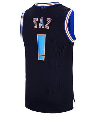 41ef7732711 RAAVIN Taz !  Bunny Space Movie Jersey Mens Squad Basketball Jersey S-XXXL (