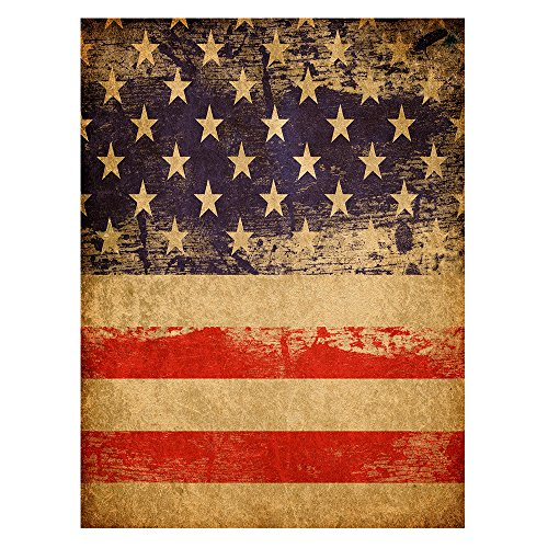 ALAZA Vintage American Flag Independence Day Polyester House Flag Banner 28