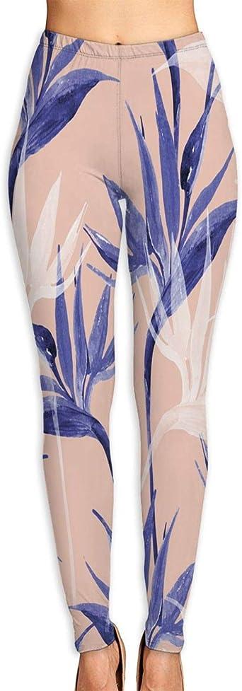 Legging de Sport Femme,Pantalon Yoga,Oiseau de modèle sans ...