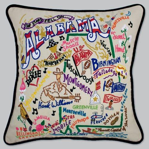 Catstudio Alabama Pillow - Original Geography Collection Home Décor 001(CS)